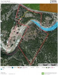 Cow Creek Bluffs aerial map