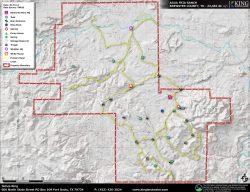 Agua Fria topo map