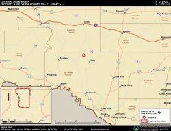 Edwards Draw location map