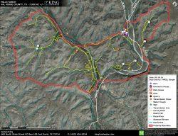 Mills Pecos River aerial map