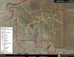 Ranch on Top aerial map