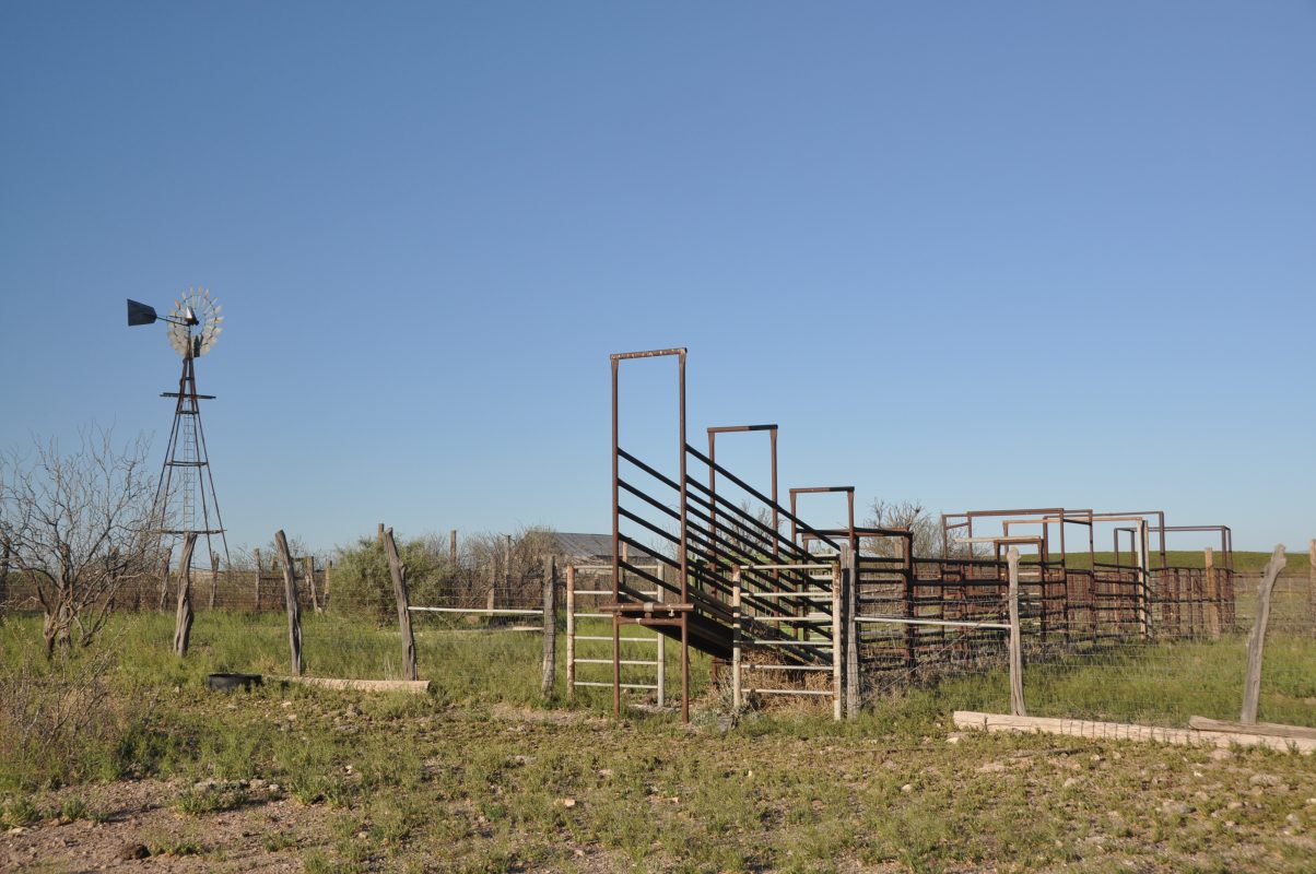 Photo of Coyanosa Draw Ranch, fencing and livestock pens
