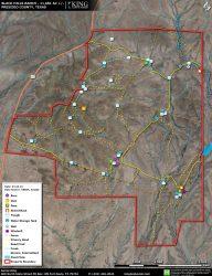 Black Hills aerial map