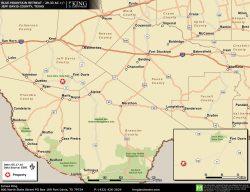 Blue Mountain Retreat location map