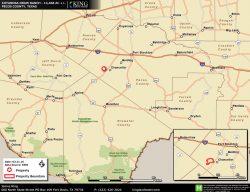 Coyanosa Draw location map