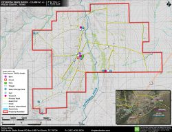 Coyanosa Draw topo map