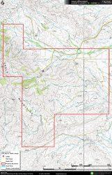 Eagle Piñon topo map