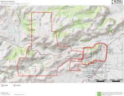 Grierson House topo map