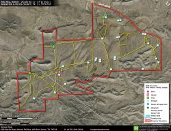 Red Mill Ranch aerial map