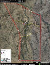 Rock House Draw Ranch aerial map