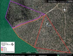 Skyline Ridge aerial map