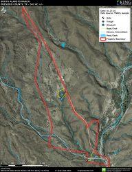 South Alamito aerial map