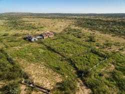 Photo of Rock House Draw Ranch, ranch headquarters area, aerial
