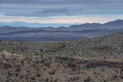 Photo of Black Hills Ranch, rain over Cerros Prietos