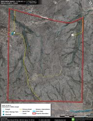 High Mesa Ranch Aerial Map