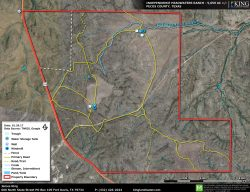 Independence Headwaters Ranch Aerial Map