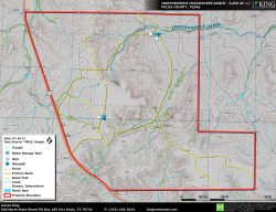 Independence Headwaters Ranch Topo Map